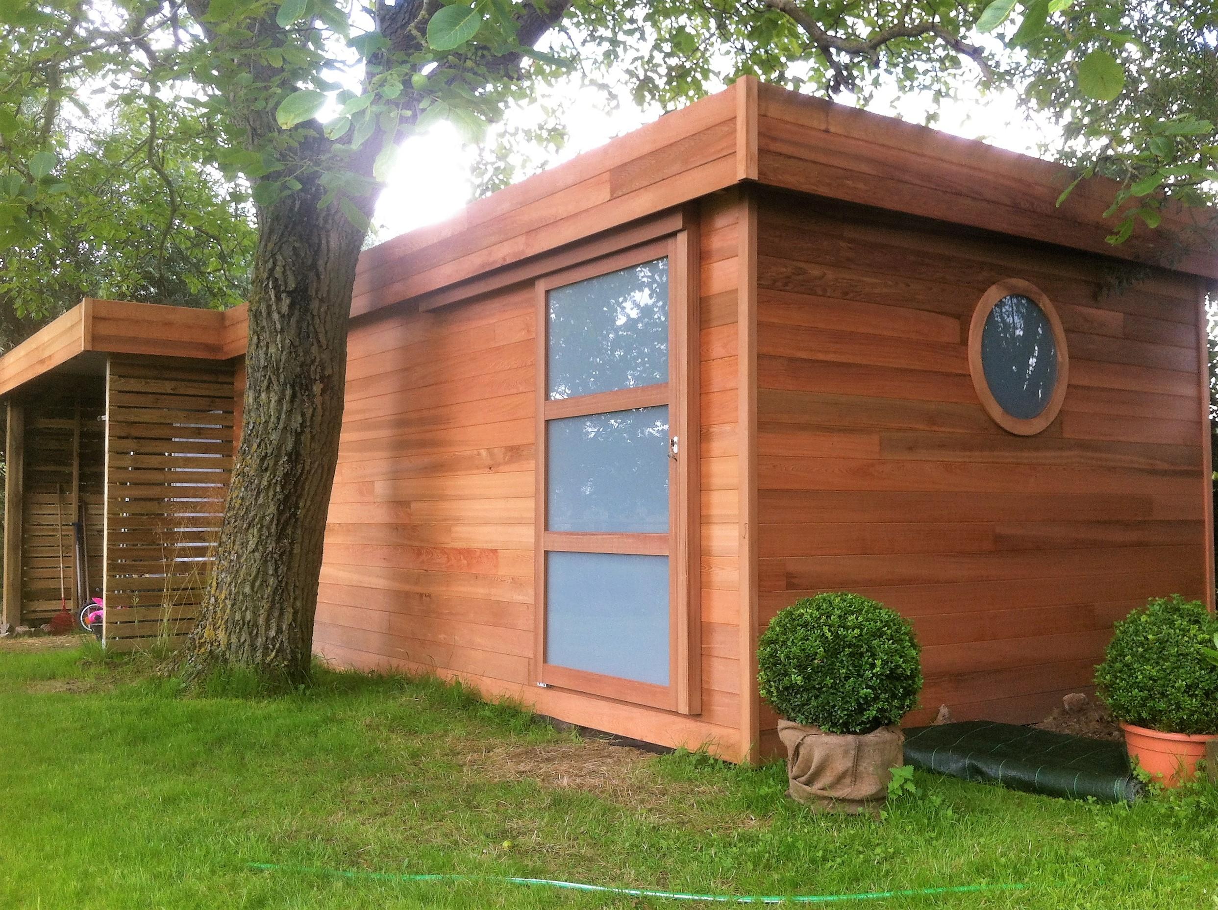 abri de jardin en bois et carport sur orchies lille p v le 59 wood conception. Black Bedroom Furniture Sets. Home Design Ideas