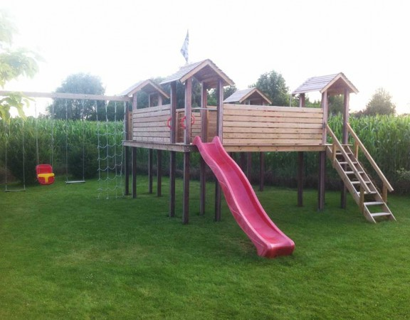 Module de Jeu de Jardin pour enfant. Portique bois - Wood Conception – Bouvignies Nord 59