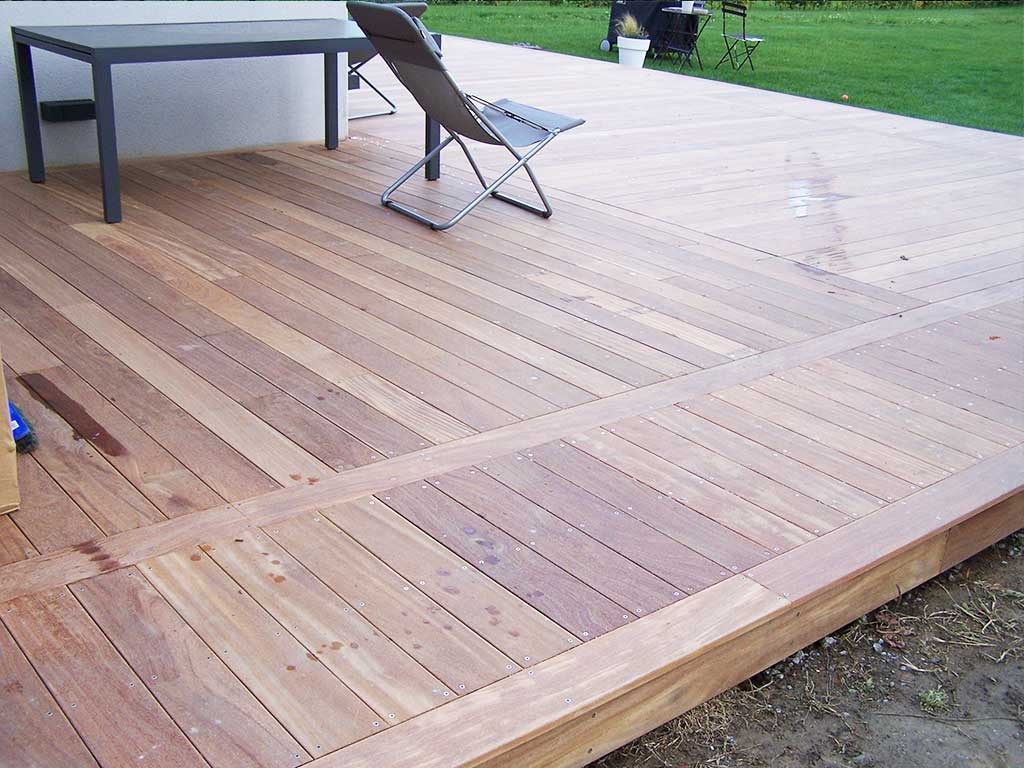 Cr ation terrasse bois lille en ip 59 wood for Terrasse en vue