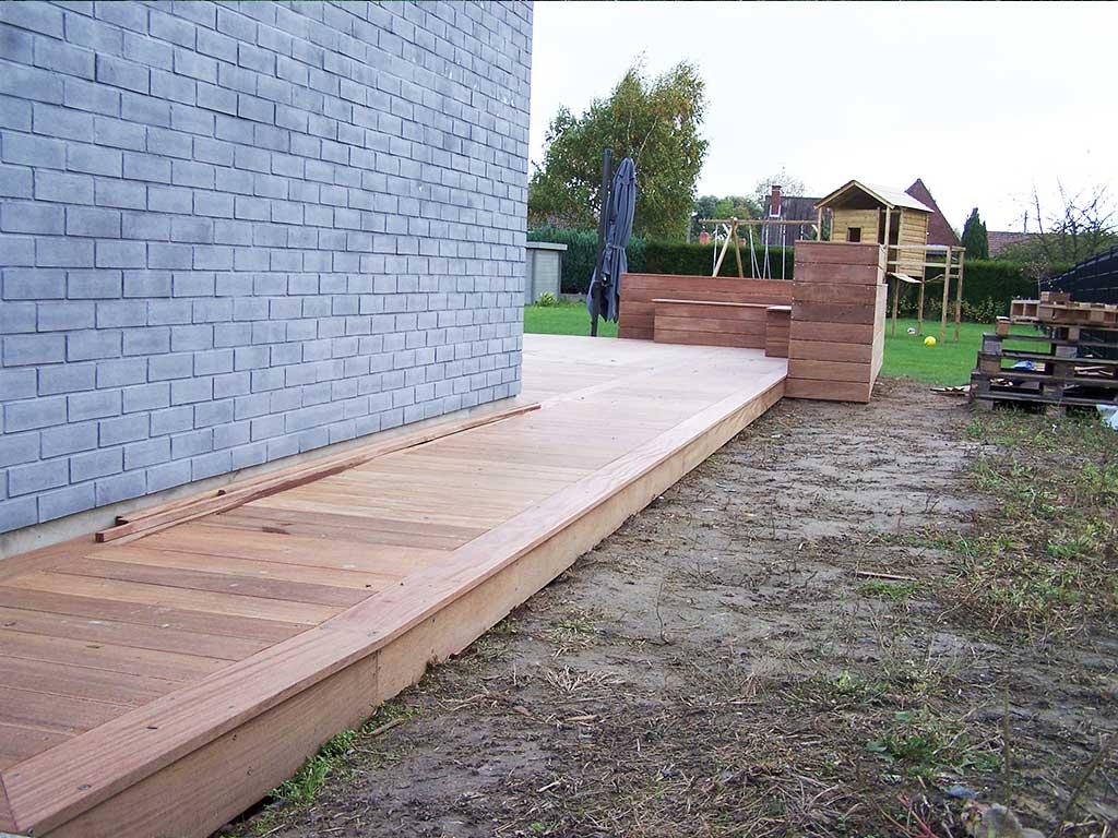 Création terrasse bois à Lille en Ipé 59Wood conceptionWood