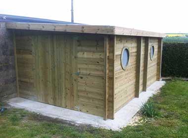Abri jardin sapin autoclave small wood conceptionwood for Conception abri jardin