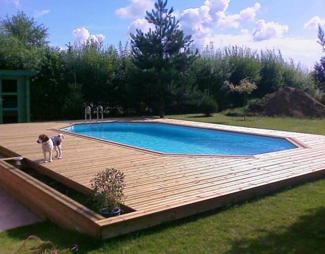 Constructeur de terrasse en bois orchies lille wood Conception piscine