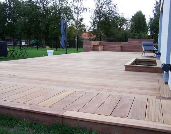 Terrasse Cumaru Avec Piscine Bouvignies Wood Conceptionwood