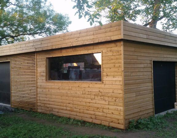 Garage en bois Wood Conception Lille