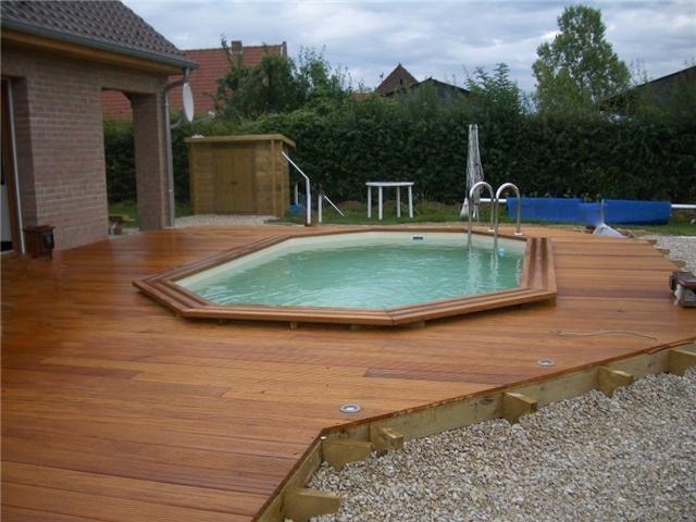Terrasse en bois secteur p v le valenciennes lille 59 for Conception piscine