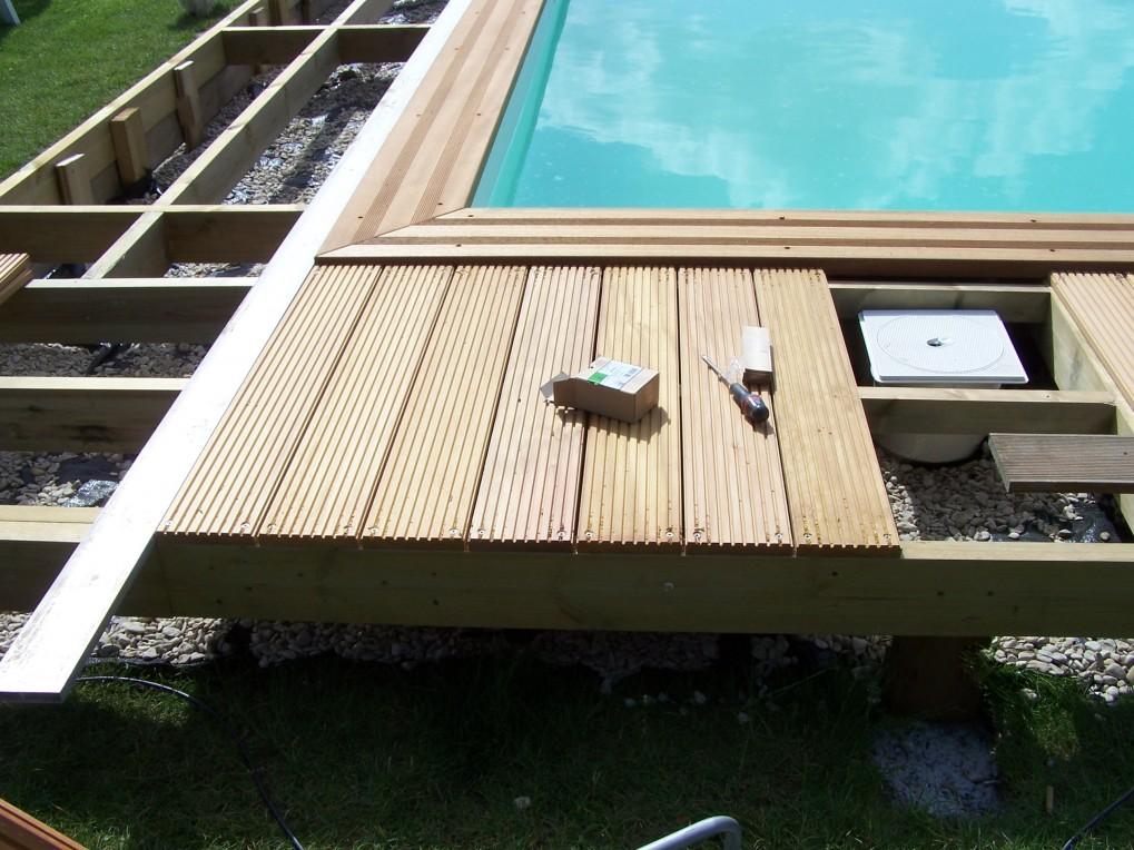 Terrasse en bois exotique à BouvigniesOrchies région Lille(59)Wood