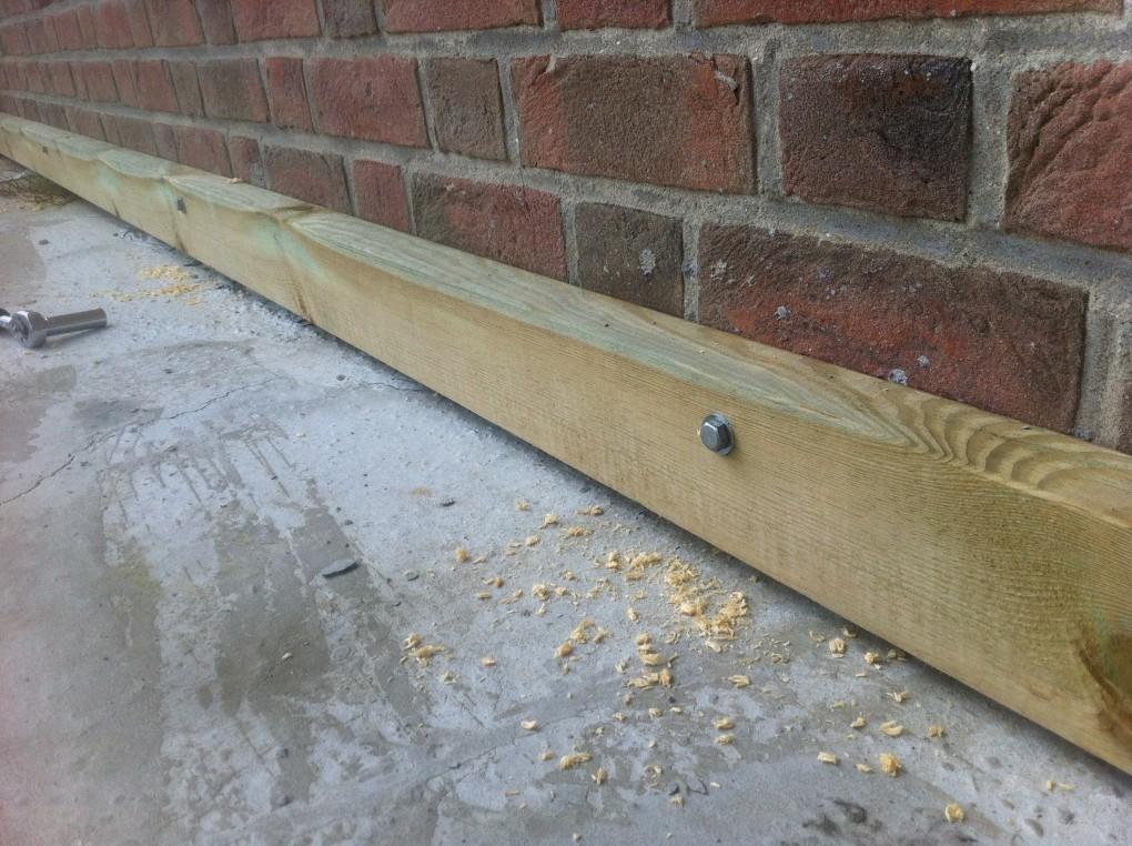 Comment fabriquer une terrasse en bois wood conceptionwood - Fixation lambourde terrasse bois ...