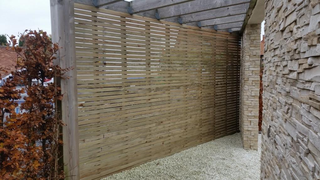 Assez Clôture-brise-vue en bois région Orchies-Pévèle-Lille/Wood C  IQ59