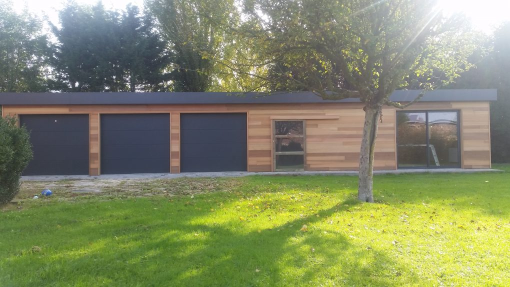 Garage en bois Wood Conception Nord Lille