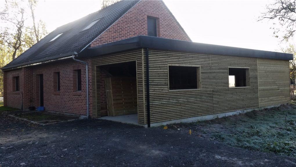 carport garage bois et abri de jardin sur coutiches faumont lillewood conception. Black Bedroom Furniture Sets. Home Design Ideas