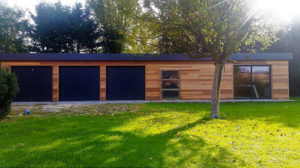 Garage abri de jardin carport en bois villeneuve d 39 ascq lillewood conception - Garage opel villeneuve d ascq ...